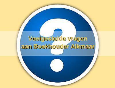 FAQ Boekhouder Alkmaar
